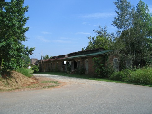 Dye House, overgrown